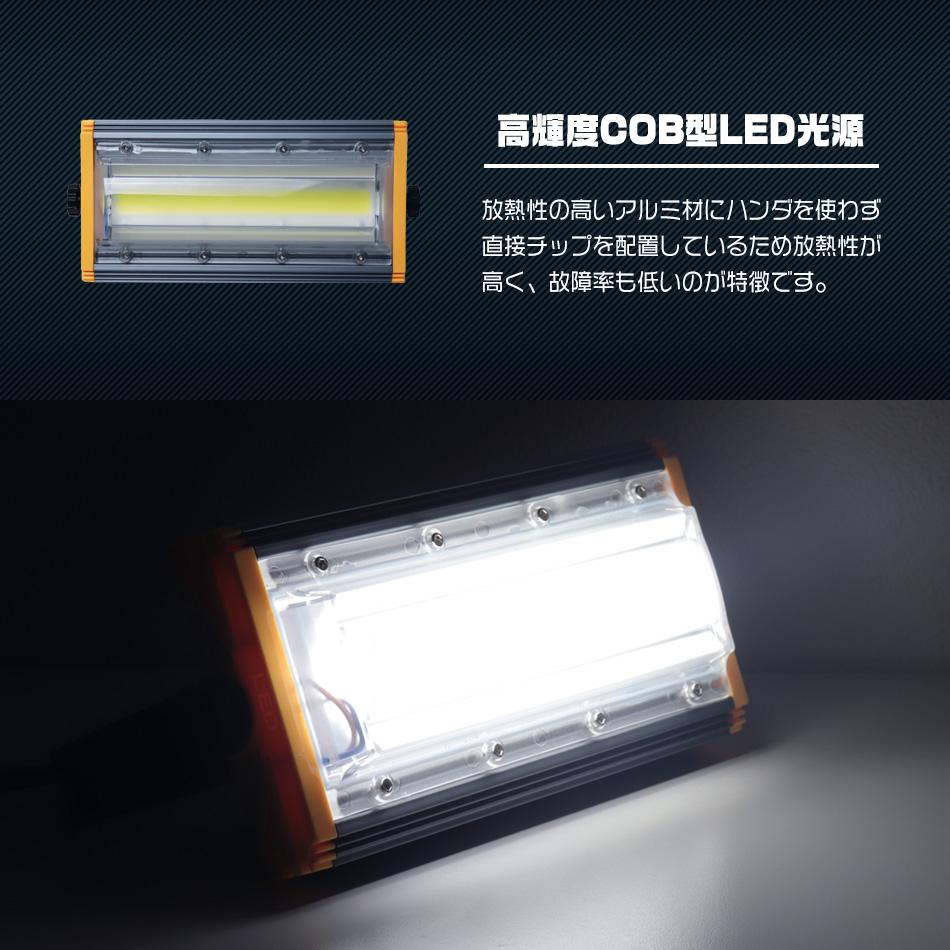 ウェイモール 新型 LED投光器 角度自在