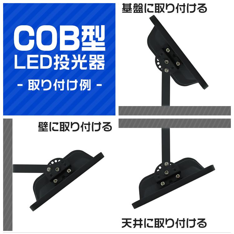 ウェイモール 新型 LED投光器 超硬質強化ガラス